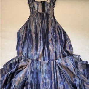Light fabric skater dress